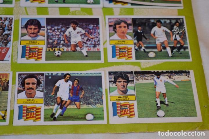 Cromos de Fútbol: Hoja con 31 cromos del VALENCIA y REAL SOCIEDAD / - LIGA 1982 / 1983 -- 82 / 83 Edic. ESTE ¡Mira! - Foto 23 - 190120418