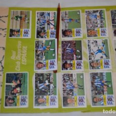 Cromos de Fútbol: HOJA CON 29 CROMOS DEL ESPAÑOL Y SPORTING DE GIJÓN / - LIGA 1982 / 1983 -- 82 / 83 EDIC. ESTE ¡MIRA!. Lote 190121087