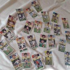 Cromos de Fútbol: ELIGE EL QUE QUIERAS POR 3 EU ,LOTE DE CROMOS DIFÍCILES SIN PEGAR LIGA 1985-86 ESTE. Lote 190347936