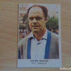 Cromos de Fútbol: CROMOS CANO FUTBOL 84 - LUCIEN MÜLLER - MALLORCA - NUNCA PEGADO. Lote 190468463