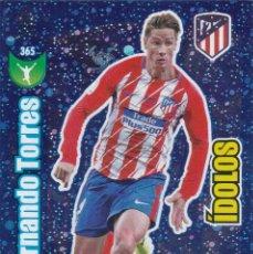 Cromos de Fútbol: ADRENALYN XL 2017-18 - Nº 365 FERNANDO TORRES - IDOLOS - . Lote 190515817