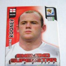 Cromos de Fútbol: WAYNE ROONEY ENGLAND SUPERSTAR 2010 ADRENALYN SOUTH AFRICA INGLATERRA SUPER STAR. Lote 190572830