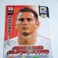 Cromos de Fútbol: FRANK LAMPARD ENGLAND SUPERSTAR 2010 ADRENALYN SOUTH AFRICA INGLATERRA SUPER STAR. Lote 190572931
