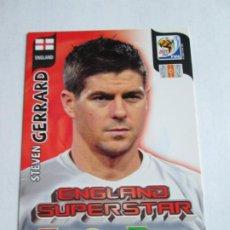 Cromos de Fútbol: STEVEN GERRARD ENGLAND SUPERSTAR 2010 ADRENALYN SOUTH AFRICA INGLATERRA SUPER STAR. Lote 190572978