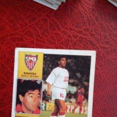 Cromos de Fútbol: MARADONA SEVILLA ESTE 92 93 CROMO FUTBOL LIGA 1992 1993 - DESPEGADO - 1394 COLOCA. Lote 190689175