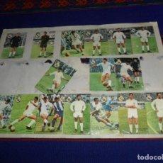 Cromos de Fútbol: FHER 67 68 REAL MADRID BETANCOURT JUNQUERA SANCHIS ZUNZUNEGUI CALPE PACHÍN DE FELIPE GROSSO ZOCO..... Lote 190701347