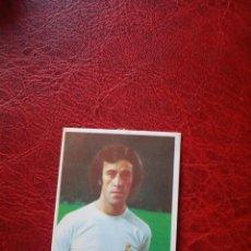 Cromos de Fútbol: DEL BOSQUE REAL MADRID ED FINI 75 76 CROMO FUTBOL LIGA 1975 1976 - DESPEGADO - 235. Lote 190816693