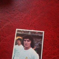 Cromos de Fútbol: CAMACHO REAL MADRID ED FINI 75 76 CROMO FUTBOL LIGA 1975 1976 - DESPEGADO - 236. Lote 190816763