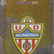 Cromos de Fútbol: 2013-2014 - 514 ESCUDO - UD ALMERIA - MUNDICROMO OFFICIAL QUIZ GAME - 3. Lote 190872615
