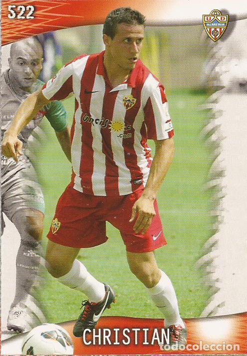 2013-2014 - 522 CHRISTIAN - UD ALMERIA - MUNDICROMO OFFICIAL QUIZ GAME - 4 (Coleccionismo Deportivo - Álbumes y Cromos de Deportes - Cromos de Fútbol)