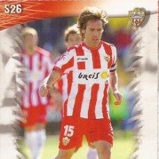 Cromos de Fútbol: 2013-2014 - 526 CORONA - UD ALMERIA - MUNDICROMO OFFICIAL QUIZ GAME - 3. Lote 190874171