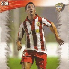 Cromos de Fútbol: 2013-2014 - 530 RAFITA - UD ALMERIA - MUNDICROMO OFFICIAL QUIZ GAME - 3. Lote 190874873