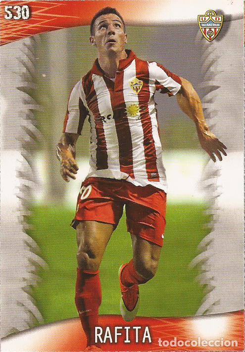 2013-2014 - 530 RAFITA - UD ALMERIA - MUNDICROMO OFFICIAL QUIZ GAME - 4 (Coleccionismo Deportivo - Álbumes y Cromos de Deportes - Cromos de Fútbol)