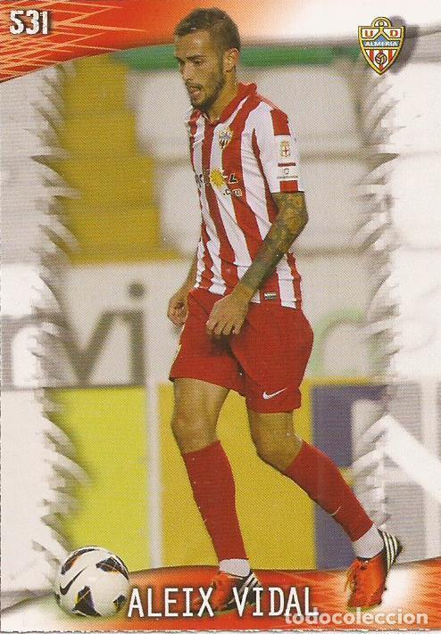 2013-2014 - 531 ALEIX VIDAL - UD ALMERIA - MUNDICROMO OFFICIAL QUIZ GAME - 6 (Coleccionismo Deportivo - Álbumes y Cromos de Deportes - Cromos de Fútbol)