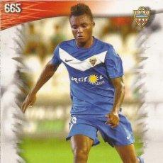 Cromos de Fútbol: 2013-2014 - 665 NELSON - UD ALMERIA - MUNDICROMO OFFICIAL QUIZ GAME - 3. Lote 190876027