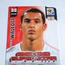 Cromos de Fútbol: THEO WALCOTT ENGLAND SUPERSTAR 2010 ADRENALYN SOUTH AFRICA INGLATERRA SUPER STAR. Lote 190891292