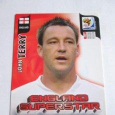 Cromos de Fútbol: JOHN TERRY ENGLAND SUPERSTAR 2010 ADRENALYN SOUTH AFRICA INGLATERRA SUPER STAR. Lote 190891357