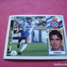 Cromos de Fútbol: ESTE 97-98 BAJA HERRERA ESPAÑOL NUEVO SIN PEGAR. Lote 191109488