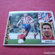 Cromos de Fútbol: ESTE 97-98 BAJA SIMEONE AT.MADRID NUEVO SIN PEGAR. Lote 191109651