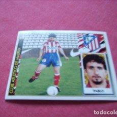 Cromos de Fútbol: ESTE 97-98 BAJA PABLO AT.MADRID NUEVO SIN PEGAR. Lote 191109817
