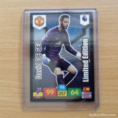 Cromos de Futebol: LIMITED EDITION DE GEA MANCHESTER UNITED PREMIER LEAGUE ADRENALYN XL PANINI 2019 2020 19 20 NUEVO. Lote 191113657