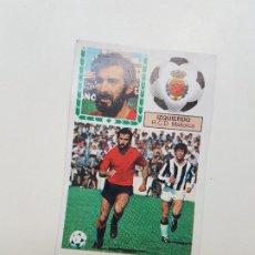 Cromos de Fútbol: SUBASTA INICIAL 1 CENTIMO IZQUIERDO MALLORCA FICHAJE ESTE 83 84 DESPEGADO VER FOTOS. Lote 191120258