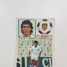 Cromos de Fútbol: SUBASTA INICIAL 1 CENTIMO ALIAGA VALENCIA FICHAJE ESTE 83 84 DESPEGADO VER FOTOS. Lote 191120857
