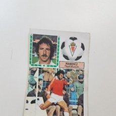 Cromos de Fútbol: SUBASTA INICIAL 1 CENTIMO RAMÍREZ MURCIA FICHAJE ESTE 83 84 DESPEGADO VER FOTOS. Lote 191120962