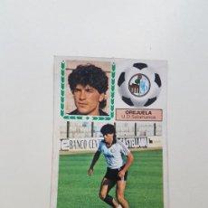 Cromos de Fútbol: SUBASTA INICIAL 1 CENTIMO OREJUELA SALAMANCA FICHAJE ESTE 83 84 DESPEGADO VER FOTOS. Lote 191121001