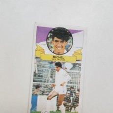 Cromos de Fútbol: SUBASTA INICIAL 1 CENTIMO SIN PUBLI MICHEL MADRID ESTE 85 86 DESPEGADO VER FOTOS. Lote 191121351