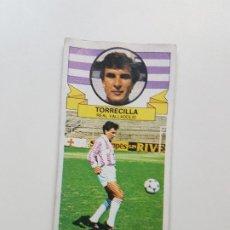 Cromos de Fútbol: SUBASTA INICIAL 1 CENTIMO TORRECILLA VALLADOLID COLOCA ESTE 85 86 DESPEGADO VER FOTOS. Lote 191122192