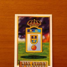 Cromos de Fútbol: OVIEDO - ESCUDO - EDICIONES ESTE 1993-1994, 93-94 - DE CARTÓN, NUNCA PEGADO. Lote 191193320