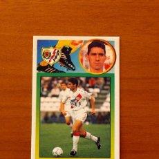 Cromos de Fútbol: RAYO VALLECANO - MOMPARLET - EDICIONES ESTE 1993-1994, 93-94 - DE CARTÓN, NUNCA PEGADO. Lote 191193913