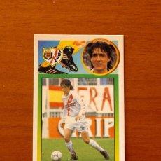 Cromos de Fútbol: RAYO VALLECANO - AYARZA - EDICIONES ESTE 1993-1994, 93-94 - DE CARTÓN, NUNCA PEGADO. Lote 191194036