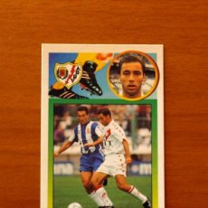 Cromos de Fútbol: RAYO VALLECANO - CALDERÓN - EDICIONES ESTE 1993-1994, 93-94 - DE CARTÓN, NUNCA PEGADO. Lote 191194182