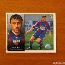 Cromos de Fútbol: EXTREMADURA - BESORA - BAJA - EDICIONES ESTE 1998-1999, 98-99 - NUNCA PEGADO. Lote 191195238