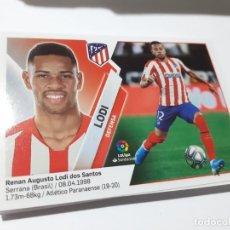 Cromos de Fútbol: CROMO COLECCIONES ESTE 2019/2020,EDITORIAL PANINI,EQUIPO AT. MADRID,JUGADOR LODI. Lote 191196226