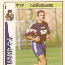Cartes à collectionner de Football: 1994-1995 - 59 CAÑIZARES - REAL MADRID - MUNDICROMO - 34. Lote 191223816