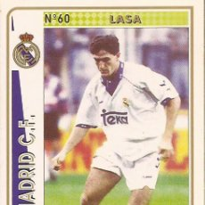 Cartes à collectionner de Football: 1994-1995 - 60 LASA - REAL MADRID - MUNDICROMO - 17. Lote 191224341