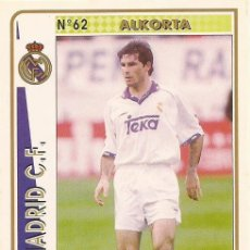 Cartes à collectionner de Football: 1994-1995 - 62 ALKORTA - REAL MADRID - MUNDICROMO - 39. Lote 191298860