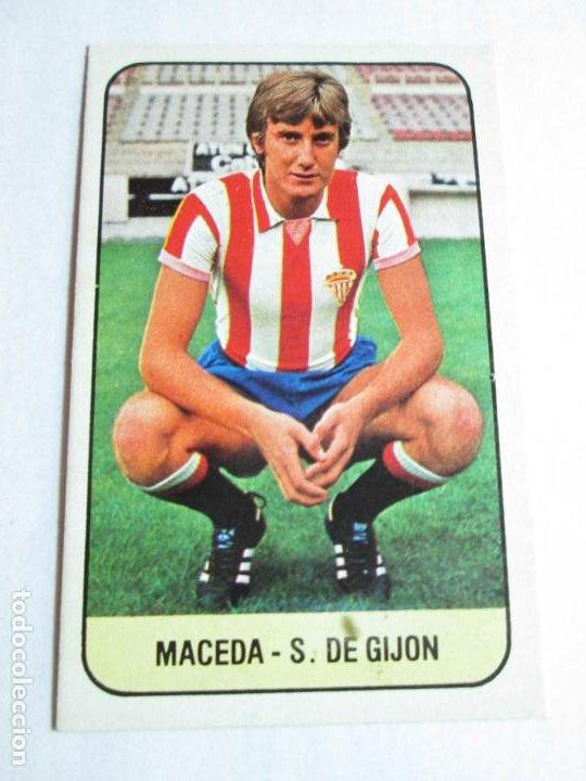 MACEDA SPORTIN GIJÓN 78 79 EDICIONES ESTE LIGA 1978 1979 NUNCA PEGADO (Coleccionismo Deportivo - Álbumes y Cromos de Deportes - Cromos de Fútbol)