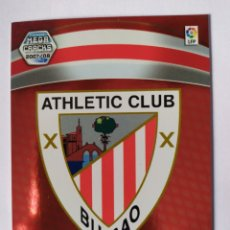 Cromos de Fútbol: MEGACRACKS 2007 2008 PANINI ESCUDO N° 19 ATHLETIC BILBAO. Lote 191332595