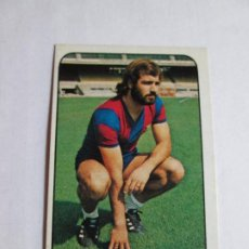 Cromos de Fútbol: JUANJO BARCELONA 78 79 EDICIONES ESTE LIGA 1978 1979 NUNCA PEGADO. Lote 191332745