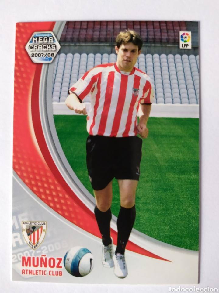 MEGACRACKS 2007 2008 PANINI MUÑOZ FICHAJE N° 456 ATHLETIC BILBAO (Coleccionismo Deportivo - Álbumes y Cromos de Deportes - Cromos de Fútbol)