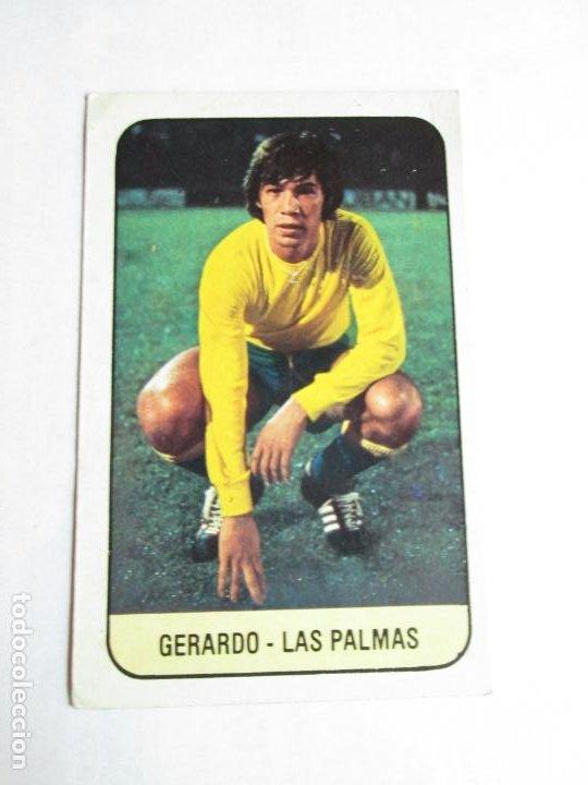 GERARDO LAS PALMAS 78 79 EDICIONES ESTE LIGA 1978 1979 NUNCA PEGADO (Coleccionismo Deportivo - Álbumes y Cromos de Deportes - Cromos de Fútbol)