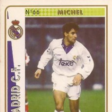 Cartes à collectionner de Football: 1994-1995 - 66 MICHEL - REAL MADRID - MUNDICROMO - 42. Lote 191402762
