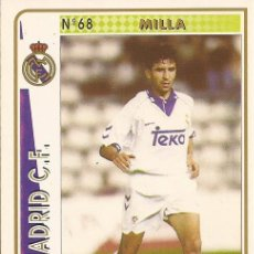 Cartes à collectionner de Football: 1994-1995 - 68 MILLA - REAL MADRID - MUNDICROMO - 47. Lote 191406437