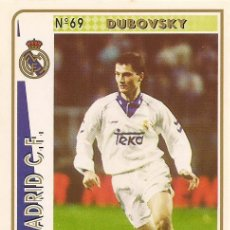 Cartes à collectionner de Football: 1994-1995 - 69 DUBOVSKY - REAL MADRID - MUNDICROMO - 7. Lote 191414787