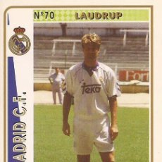Cartes à collectionner de Football: 1994-1995 - 70 LAUDRUP - REAL MADRID - MUNDICROMO - 18. Lote 211511494