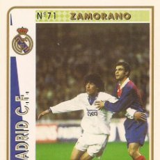 Cartes à collectionner de Football: 1994-1995 - 71 ZAMORANO - REAL MADRID - MUNDICROMO - 11. Lote 231843710